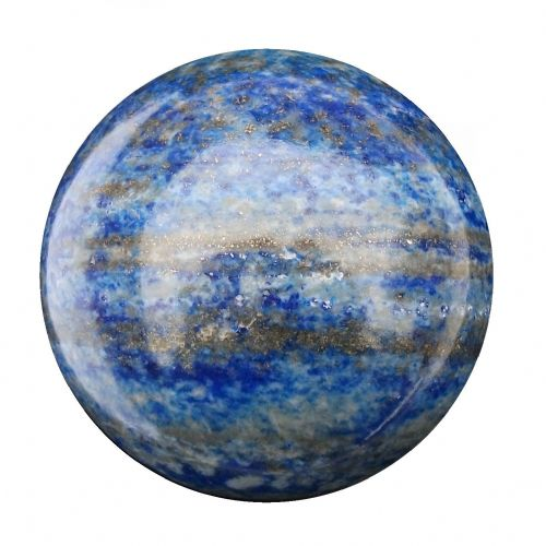 Lapis Lazuli Fortune Telling Crystal Ball Divination Sphere 56mm 300g (LB22)